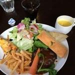 ラ グロッタ - ワンプレートランチ(肉)950円