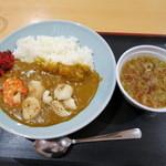さんさん亭 - 復興カレー760円