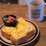 CLAMP COFFEE SARASA - エッグトースト&ドリップコーヒー