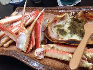 高崎 - カニ、焼きがやっぱり美味しい!!