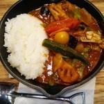 キャンプエクスプレス 三井アウトレットパーク入間店 - 野菜を食べるカレー