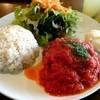 ジェニージョーンズ - 料理写真:ランチセット『ふわふわハンバーグ』¥1000-