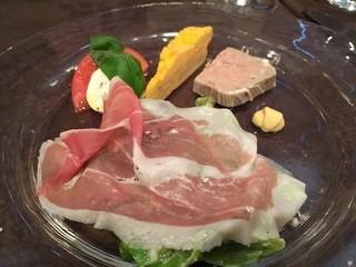 チェルバイア - 前菜の盛り合わせ
