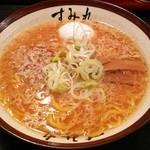 すみれ - 味噌ラーメン(900円)半熟玉子トッピング