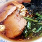 鉄平 - 煮干し系醤油ラーメン 650円