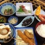 味佐々 - おこのみ膳(1450円)