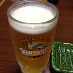 かね正 - 生ビール