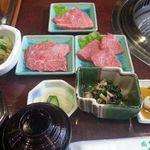 肉料理おがた - 前沢牛焼肉味くらべ膳