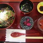 麻布茶房 - 2015/3 まぐろづけ丼