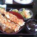 玉藻 - 料理写真:ジャンボ海老天丼1458円
