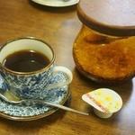 いなり家こんこん - ちらし定食(コーヒー)