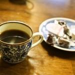 いなり家こんこん - いなり定食(コーヒー)