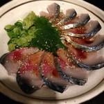 秋葉原漁港 快海 - ゴマ鯖