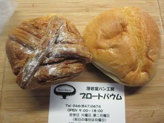 溶岩窯パン工房 ブロートバウム - 本日のお買い上げ