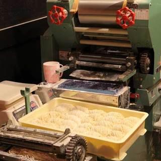 もちもちぷっちんの自家製麺作ってます!