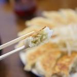 石松餃子 - 野菜が多い