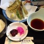 庄や - 天ぷら定食 860円