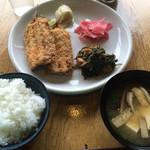 スターダスト - アジフライ定食