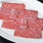 和牛焼肉 KINZO - 仙台牛 赤身ロース