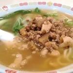 縁膳閣 - 担々麺