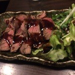 旬亭 よこ田 - ステーキ