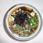 かさすぎ - 山菜そば(820円)
