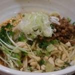 坦々麺専門 はつみ - 汁なし担担麺~青花椒風味