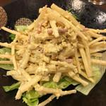 晴海 - ダイコンと帆立のサラダ