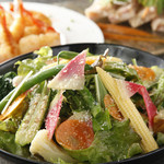 赤坂あじる亭Annesso - 滋賀県みのり農園さんから届く時期折々の野菜達のサラダ
