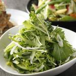 赤坂あじる亭 L'epice - ピリッと辛いパクチーとハラペーニョのサラダ