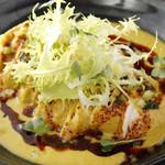赤坂あじる亭 L'epice - しっとり蒸し上げた鶏肉にココナッツミルクペースのイエローカレーソース