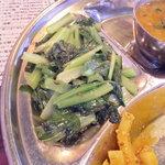 ネパール居酒屋 PARIBAR - 青菜炒め