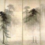 日本料理 櫻川 - 国宝松林図屏風(左隻)