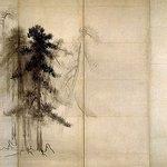 日本料理 櫻川 - 国宝松林図屏風(右隻)