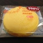 ファミリーマート - 料理写真:H.27.3.30.昼 とろけるチョコクッキー マンゴー 108円