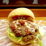 手作りのパン 峰屋 - 料理写真:峰屋バーガー