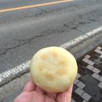 小布施 味麓庵 - 野沢菜おやき150円
