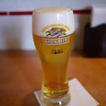 中国四川料理きりん - 生ビール~☆