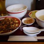 中国四川料理きりん - 麻婆豆腐~☆