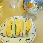 tea room ALICE - 玉子サンド