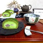 パティスリー モンシェール - 天竜抹茶とわらび餅のロール