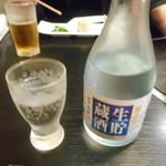 与志乃 - お酒は菊正宗の冷酒