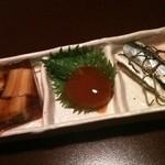 田中屋 - 【2012.02.27】酒肴の三点盛り