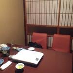 田中屋 - 2015.04.08 禁煙の半個室