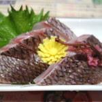 さくら水産 - 鯛の刺身。これは物凄くポイント高い。290円という価格だから代理魚なのは間違いないっすね。