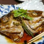36756347 - 真鯛カブト煮付け780円