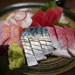 36756360 - お任せ鮮魚5種盛り合わせ 1人前860円×3