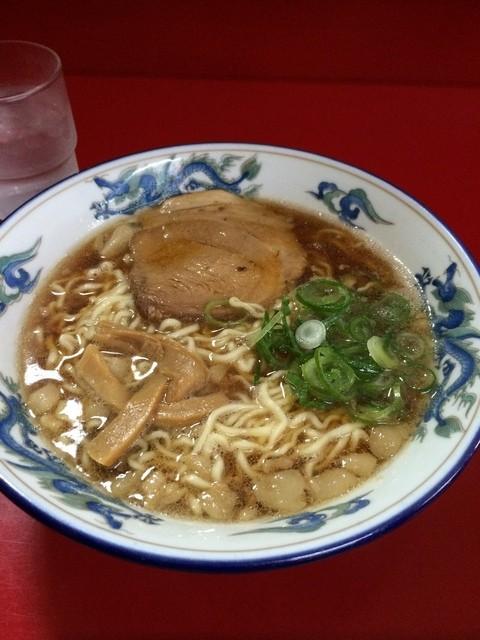 萬來軒 - ラーメン580円