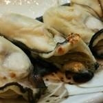 36757149 - 播磨灘の一年もの牡蠣・塩焼き800円