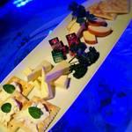 bar shark - チーズ盛り合わせ